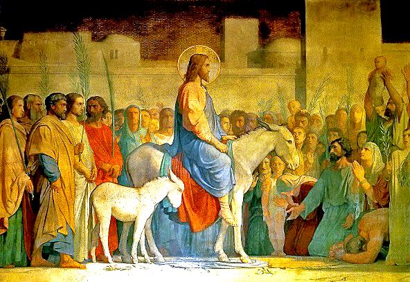 Christs_Entry_into_Jerusalem_Hippolyte_Flandrin_1842