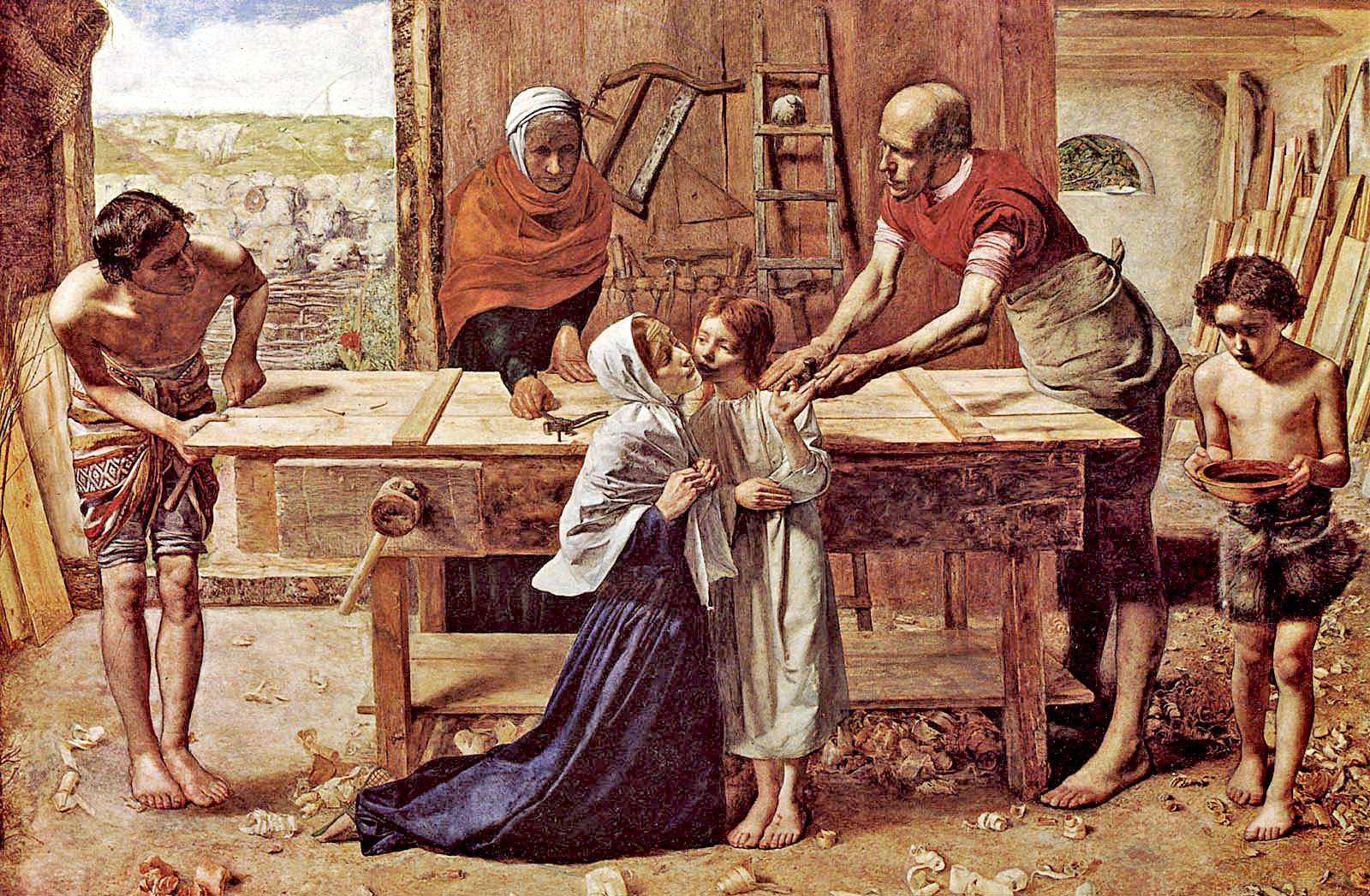 Millais_-_Christus_im_Hause_seiner_Eltern