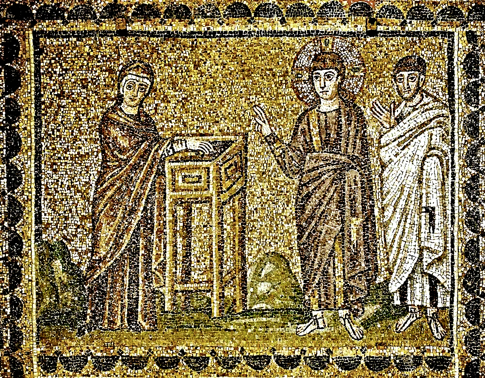 01-unknown-artist-the-widows-mite-basilica-di-santapollinare-nuovo-ravenna-italy-6th-century