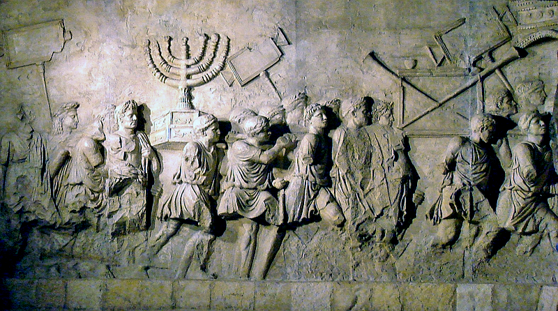 800px-Arch_of_Titus_Menorah