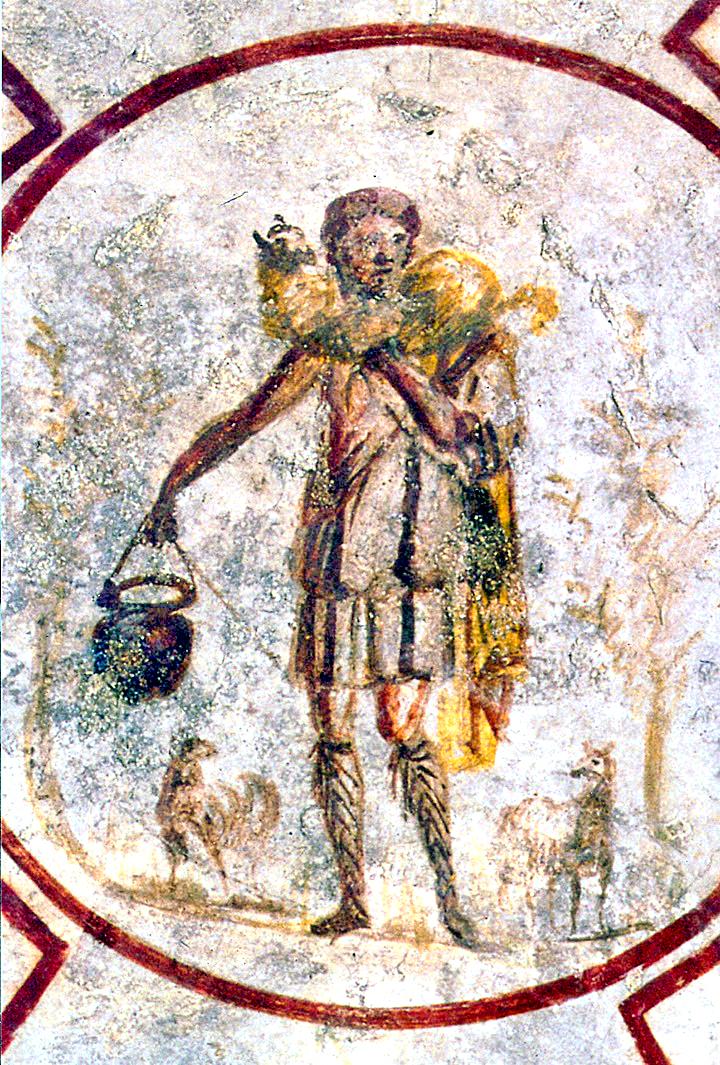 The-Good-Shepherd-Catacomb-of-Callixtus-mid-3rd-century