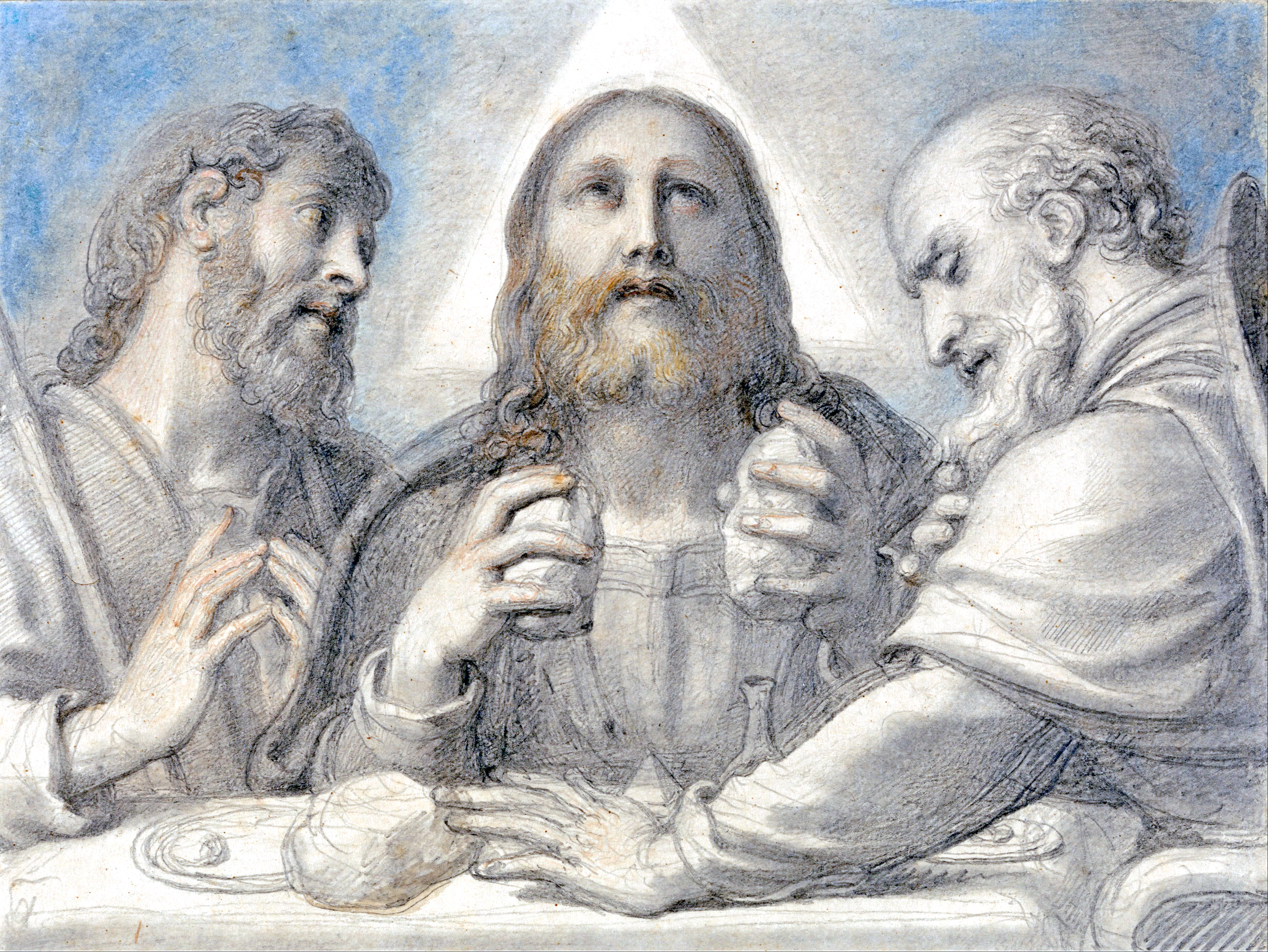 Richard_Cosway_-_Supper_at_Emmaus_-_Google_Art_Project