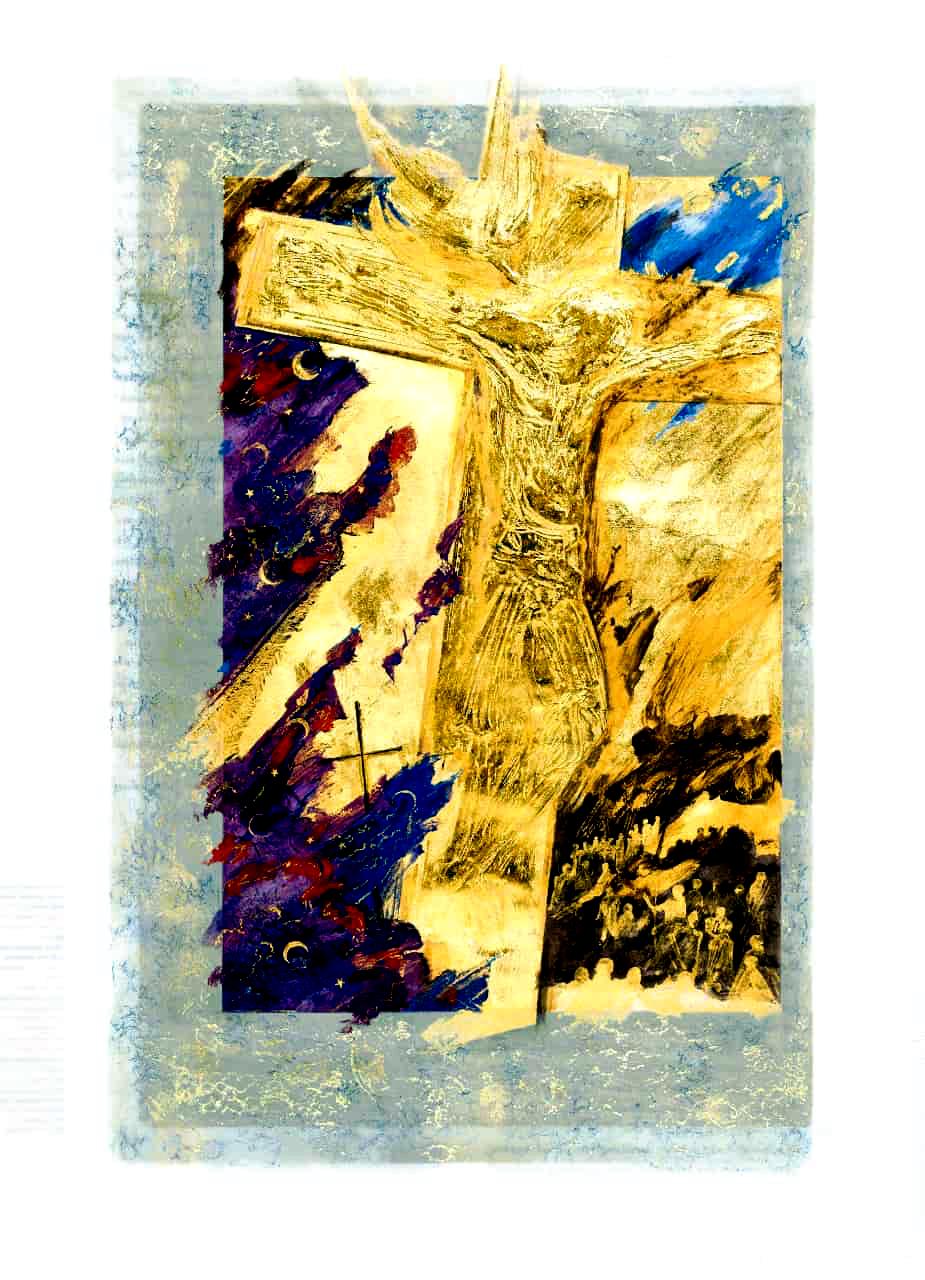 Crucifixion-St-Johns-Bible